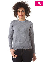 CARHARTT Womens X' Toss Knit Sweat metro blue/broken white