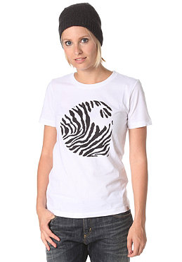 CARHARTT Womens Zebra S/S T-Shirt white/black