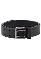 CARHARTT Wright Belt leather black/antique silver