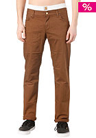 CARHARTT Ziggy Pant Alabama Color Denim pecan rinsed