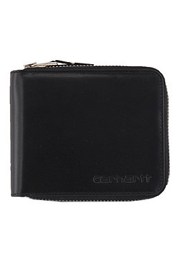 CARHARTT Zip Wallet real leather for wallet black 