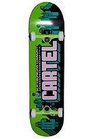 CARTEL Community Skateboard green 7.625