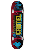 CARTEL Community Skateboard purple 7.625