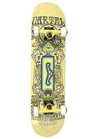CARTEL Experienced Skateboard green 7.625