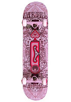 CARTEL Experienced Skateboard purple 7.625