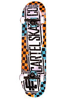 CARTEL Ridge Skateboard orange 7.625