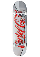 CARTEL Soda Skateboard silver 7.625