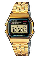 CASIO A159WGEA-1EF gold/black