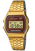 CASIO A159WGEA-5EF gold/brown