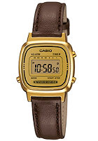 CASIO LA670WEGL-9EF brown/gold