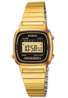CASIO Womens LA670WEGA-1EF gold/black