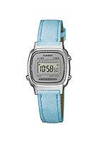 CASIO Womens LA670WEL-1BEF light blue/silver