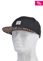 CAYLER & SONS 2Tone Fuzzy Leo Cap charcoal flannel/leopard