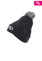 CAYLER & SONS Budz&Stripes Pom Pom Beanie black/white/grey