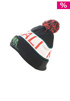 CAYLER & SONS Cali Kush Pom Pom Beanie black/white/red