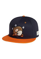 CAYLER & SONS Chi Town Snapback Cap deep navy/orange/brown