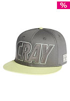 CAYLER & SONS Cray Snapback Cap dark grey/flour/glow in the dark