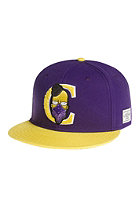 CAYLER & SONS Donuts Snapback Cap purple/yellow