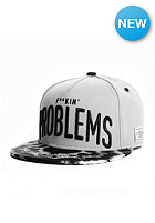 F-King Problems Snapback Cap grey
