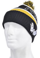 CAYLER & SONS Forever Pom Pom Beanie Black/Yellow/white