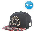 CAYLER & SONS Holy BKLYN Snapback Cap black/camo mc/gold