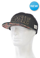 CAYLER & SONS Juicy Snapback Cap black denim/green/red
