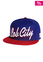 CAYLER & SONS Lob City Snapback Cap royal/red/white
