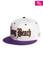 CAYLER & SONS Long beach Snapback Cap white/purple/yellow
