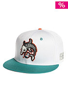 CAYLER & SONS M.I.A. Snapback Cap white/aqua/orange