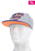 CAYLER & SONS New York City Cap grey/royal blue/orange