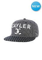 CAYLER & SONS No. 1 Throwback Snapback Cap grey wool/black/white