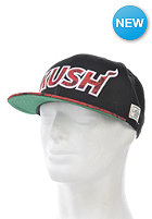 CAYLER & SONS On Fire Snapback Cap black/red leaves/red