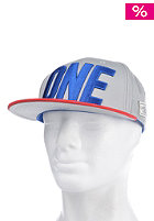 CAYLER & SONS One Cap grey/red/royal blue