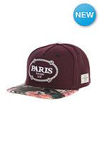 CAYLER & SONS Paris Snapback Cap maroon/floral digi camo/ white
