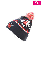 CAYLER & SONS Pom Pom Beanie navy/white/red
