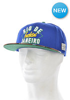 CAYLER & SONS Rio Fuckin City Snapback Cap royal blue/green/big booty