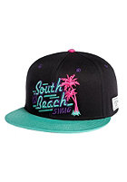 CAYLER & SONS South Beach Snapback Cap black/mint/neon pink