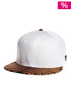 Tyga 2-Tone Snapback Cap white/tiger