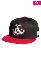 CAYLER & SONS Windy City Snapback Cap black/red/white