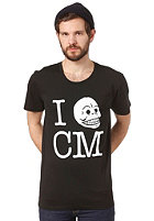 CHEAP MONDAY Bruce Printed S/S T-Shirt black