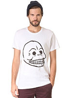CHEAP MONDAY Bruce Printed Skull S/S T-Shirt white