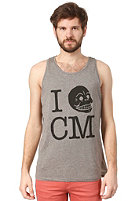 CHEAP MONDAY Kim Printed Tank Top grey melange