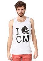 CHEAP MONDAY Kim Printed Tank Top white