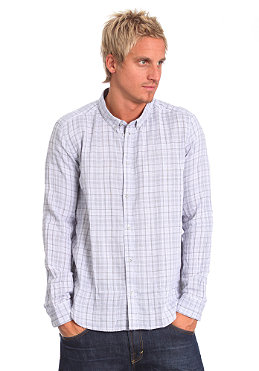 CHEAP MONDAY Loose L/S Shirt cloud grey check 