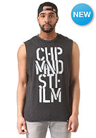 CHEAP MONDAY Muscle Cheap Stencils Tank Top black