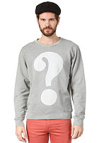 CHEAP MONDAY Per Printed Sweat ash grey
