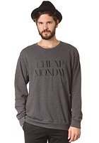 CHEAP MONDAY Per Sweat charcoal melange