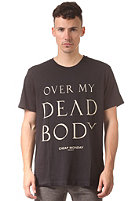 CHEAP MONDAY Tor Over My Dead Body S/S T-Shirt black