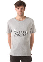CHEAP MONDAY Tor S/S T-Shirt grey melange