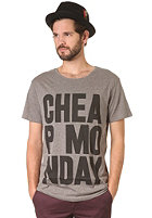 CHEAP MONDAY Tyler CM S/S T-Shirt grey melange